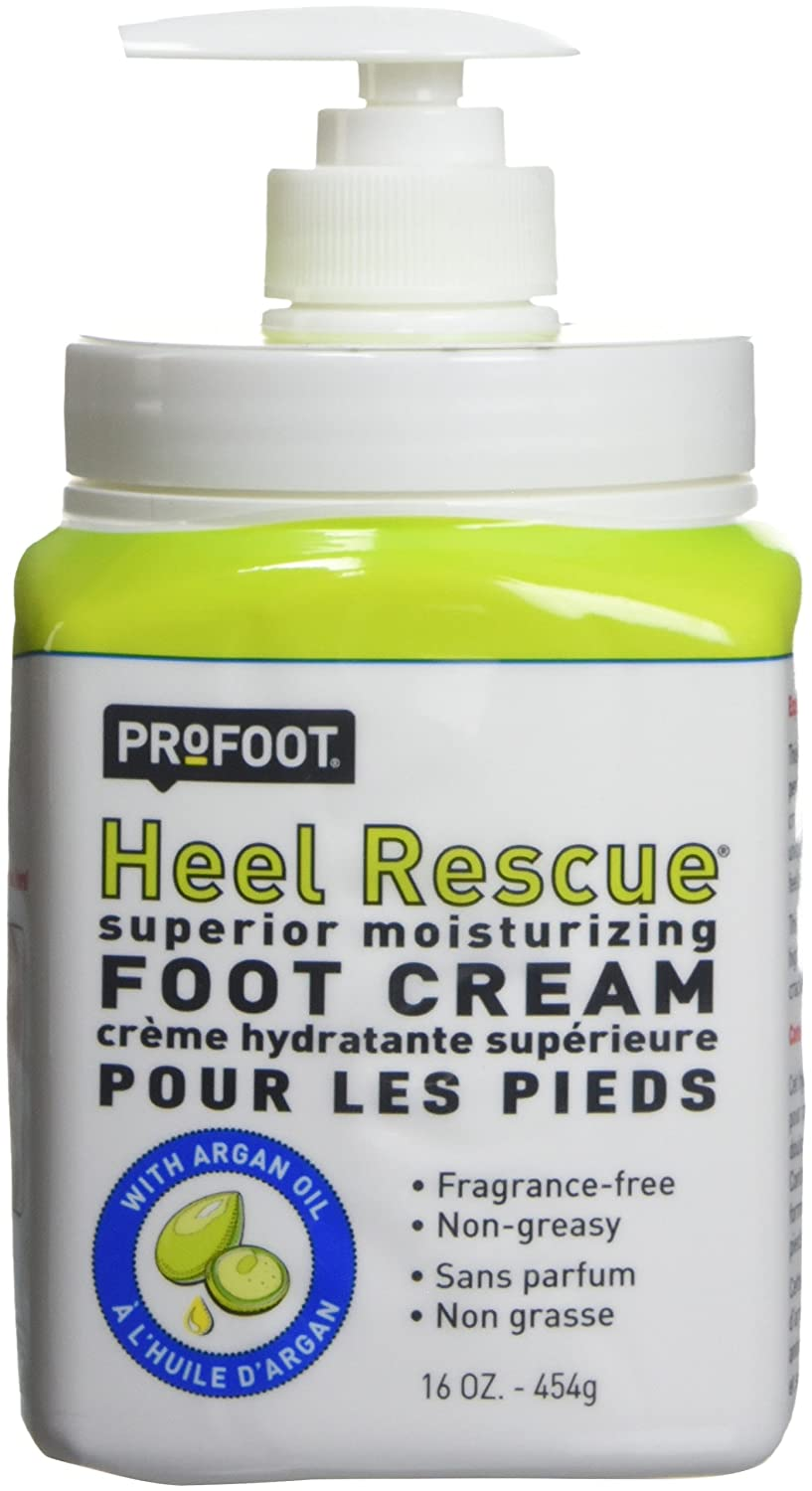 Profoot Care Heel Rescue Superior Moisturizing Foot Cream, 16 Oz (Pack of 2)