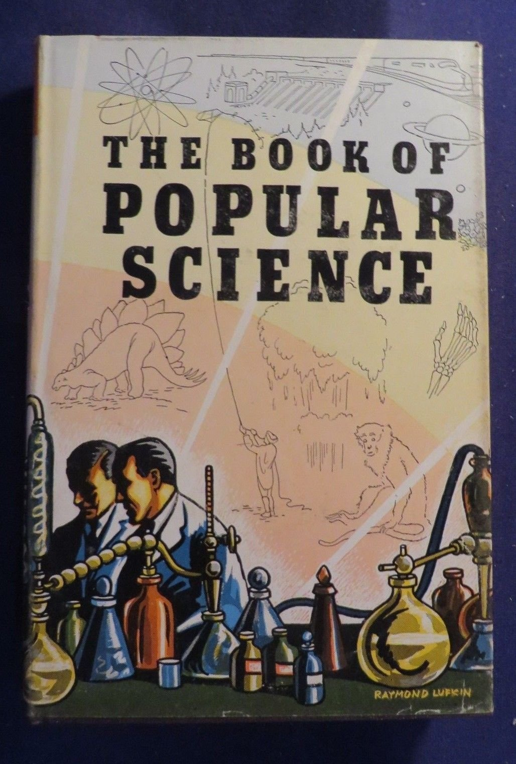 1951 The Book of Popular Science Vol 5 Hardcover Book by The GROLIER Society INC