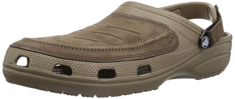 Crocs 205177 Yukon Vista Mens Casual Clogs (US Sizing Displayed) 8 UK Caqui / Expreso