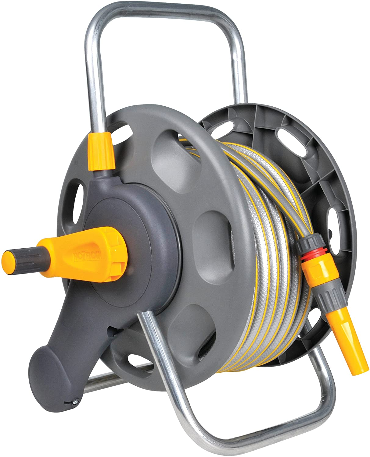 Hozelock Compact 2in1 Reel with 25m Hose Standard