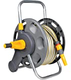 Hozelock 60m 2 in 1 Hose Reel with 50m Hose