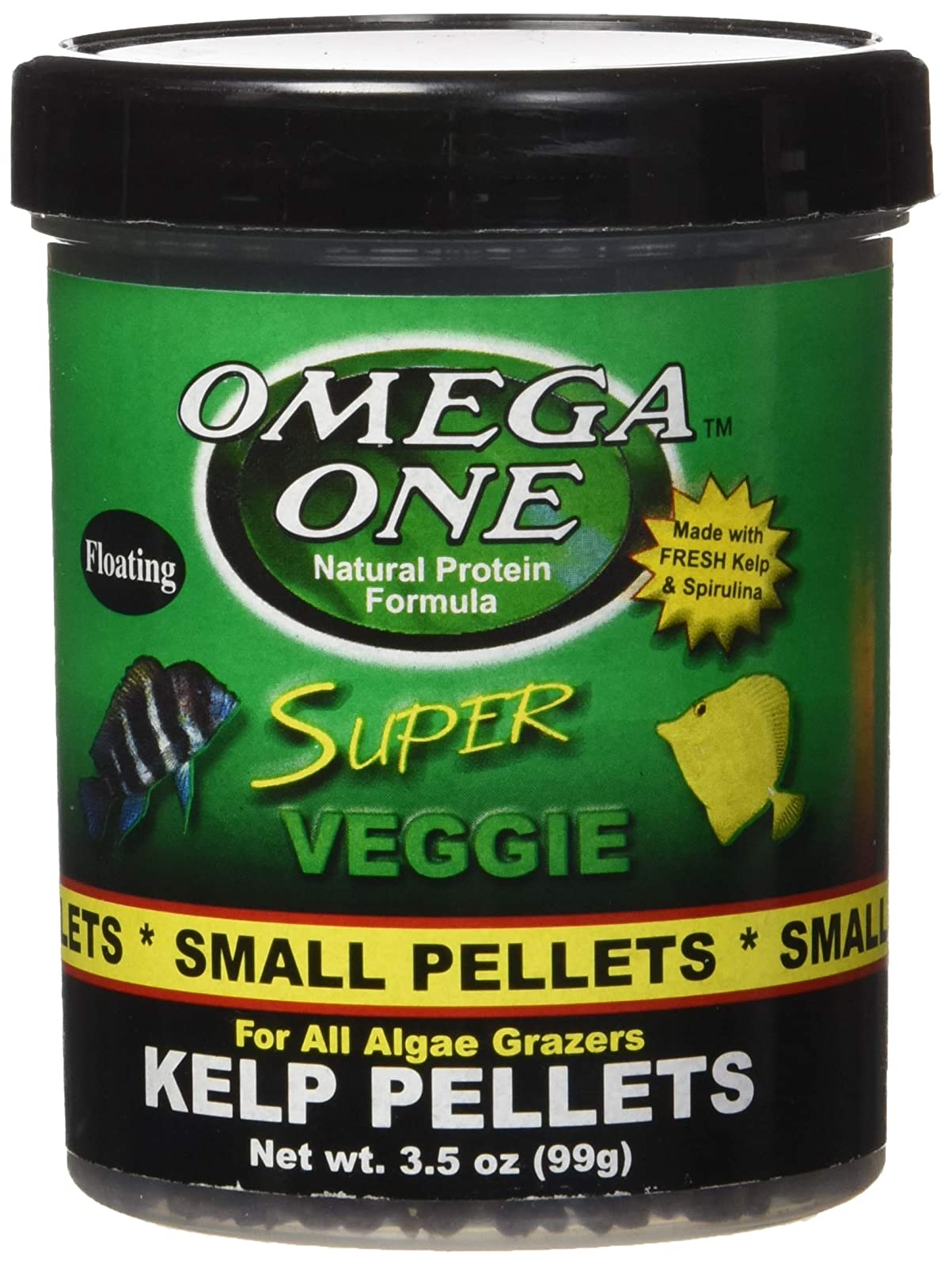 Omega One Super Veggie Pellets Small 3.5oz SHOMHNK004 - 4