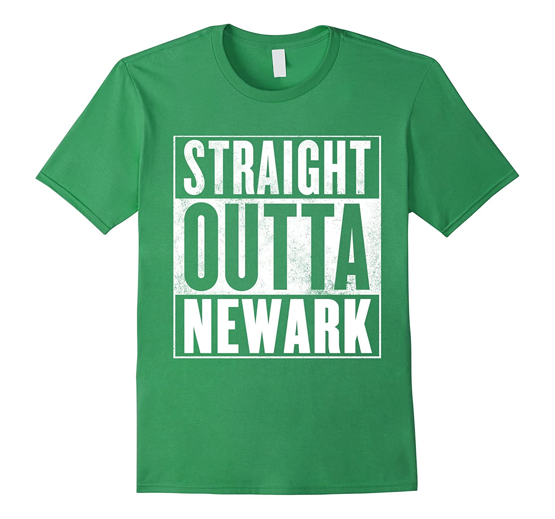 Funny Newark T-Shirt – STRAIGHT OUTTA NEWARK Shirt