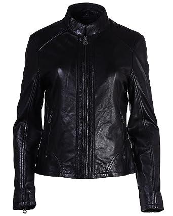 coole Lederjacke Gipsy schwarz L XL XXL Zipper Taschen kurz