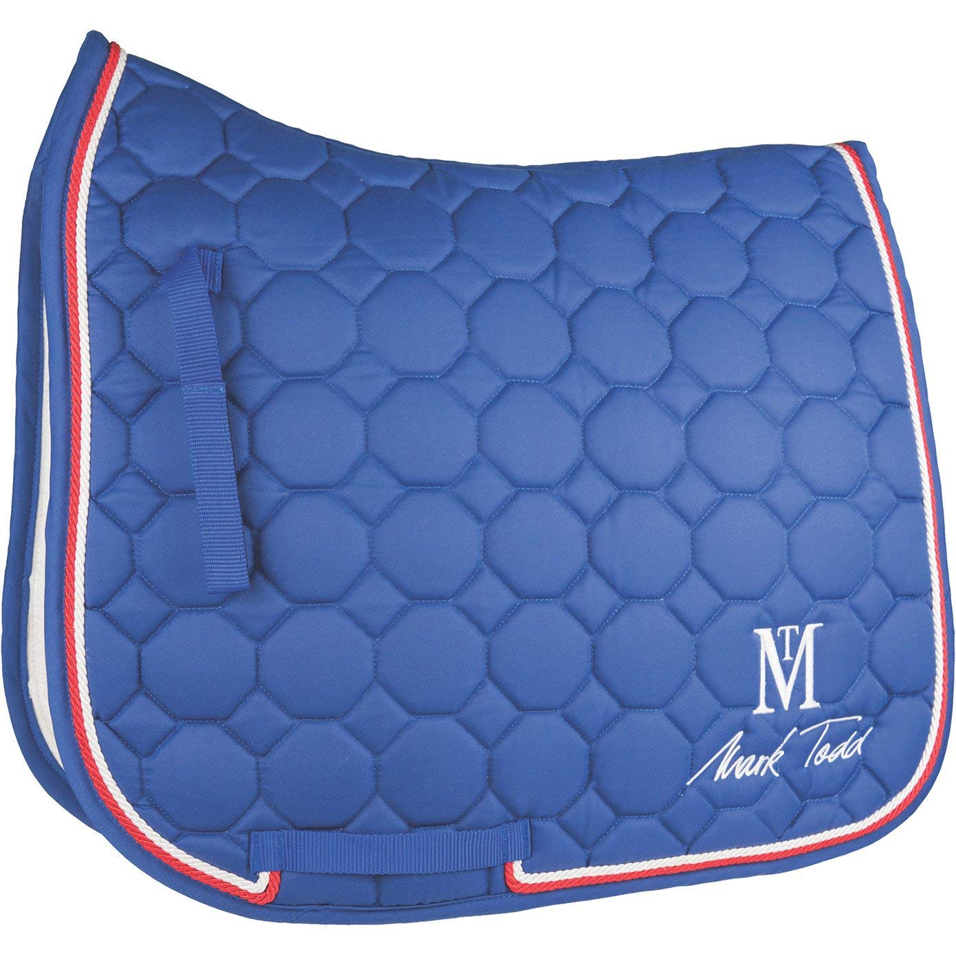 Mark Todd Matrix Quilted Saddle Pad Cob Royal bluee