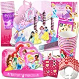 Disney Princess Party Supplies Ultimate Set (150 Pieces)    Party Favors,  Birthday