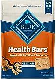 Blue Buffalo Health Bars Natural Crunchy Dog Treats Biscuits, Pumpkin & Cinnamon 16-oz Bag