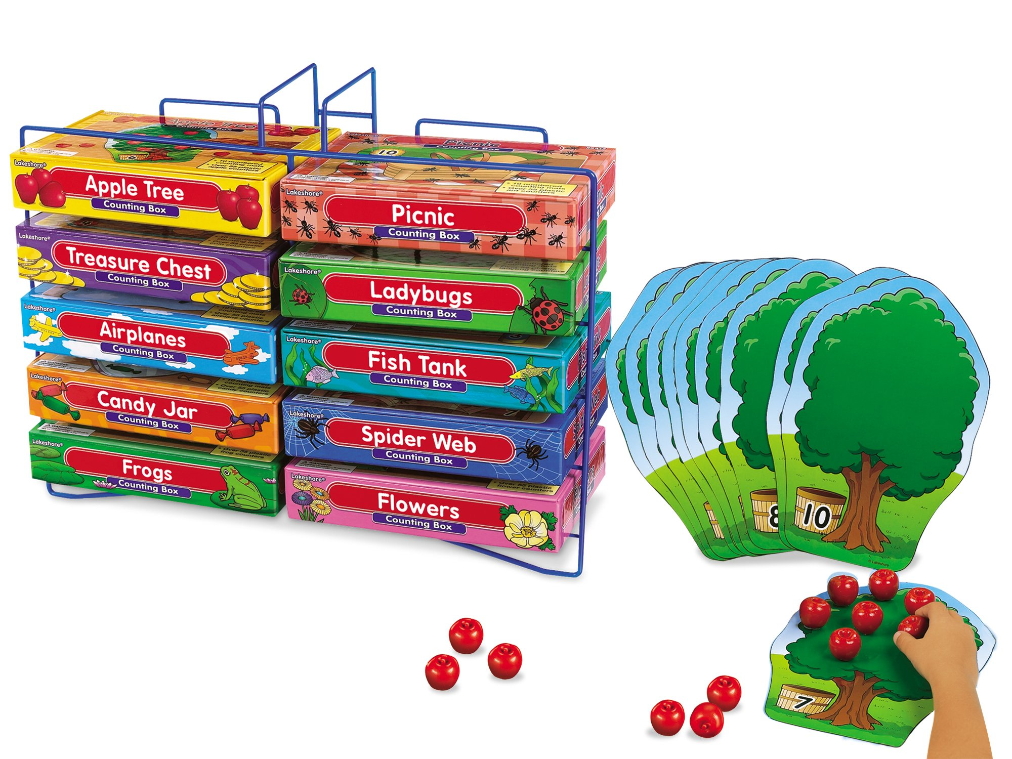 Lakeshore Counting Boxes - Set of 10