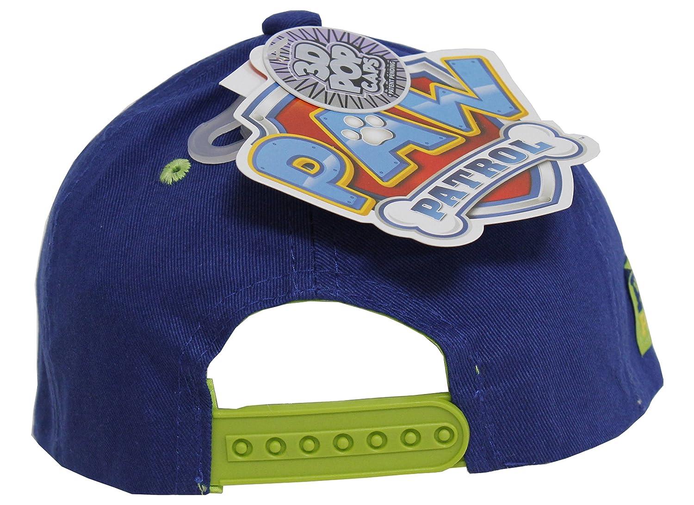 buy popular 5aa96 f29cb Blue Boys Baseball Cap ABG Accessories Nickelodeon Paw Patrol 3D POP to The  Lookout! Blue Boys Baseball Cap ABG Accessories