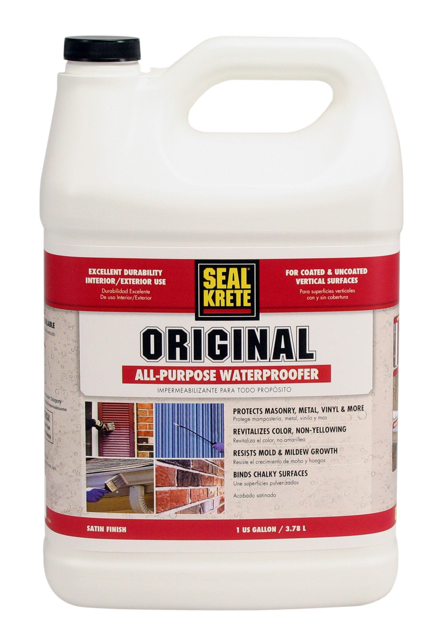 Seal-Krete 100001 Original Waterproofing Primer/Sealer, Gallon by Convenience