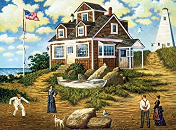 Charles Wysocki Catching Bugs Signed and Numbered Farm Print