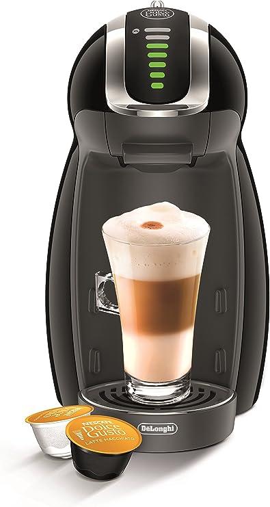 DeLonghi Dolce Gusto Genio 2 EDG465.B - Cafetera de cápsulas, 15 bares de presión, color negro: Amazon.es: Hogar