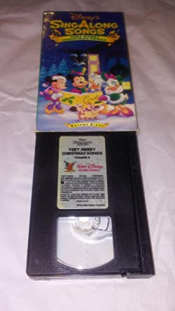disneys singalong songs very merry christmas songs volume eight - Mickey Mouse Christmas Songs