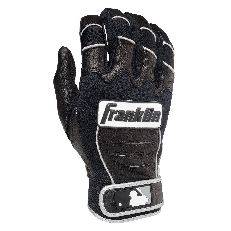 Franklin (フランクリン) スポーツ MLB CFX Pro バッティング グロ―ブ B00GBANSMA Adult Small|ブラック/ブラック/シルバー ブラック/ブラック/シルバー Adult Small