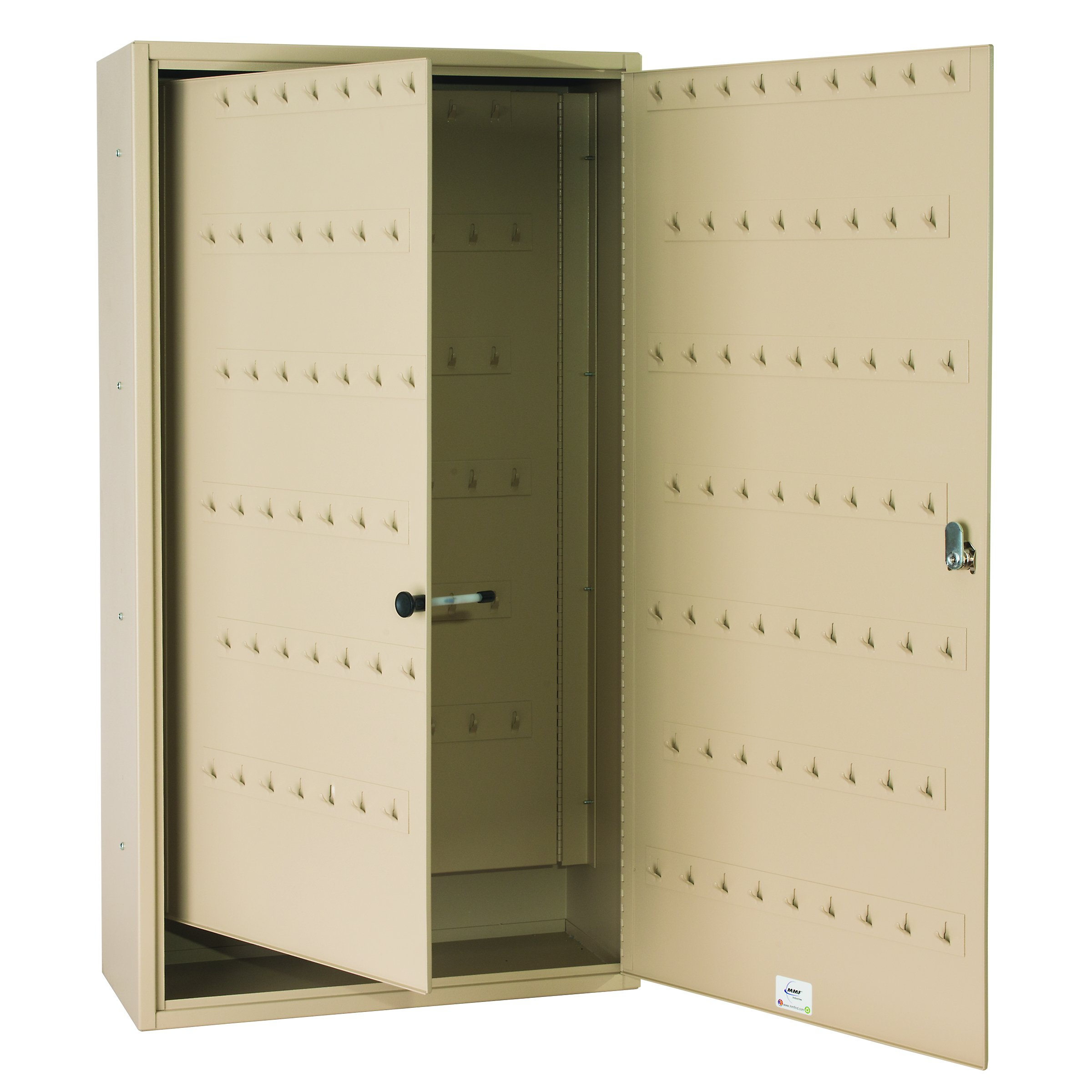 Steelmaster Fob-Friendly Key Cabinet, 31.125 x 16.5 x 8 Inches, 130-Key Capacity, Sand (201013003)