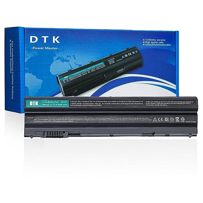 Dtk 8858X T54FJ M5Y0X T54F3 Batería para Dell Latitude E5420 E5430 E6420 E6430 E6520 E6530 Inspiron N4720 N5420 N5720 N7420 [11.1v 4400mah]: Amazon.es: ...