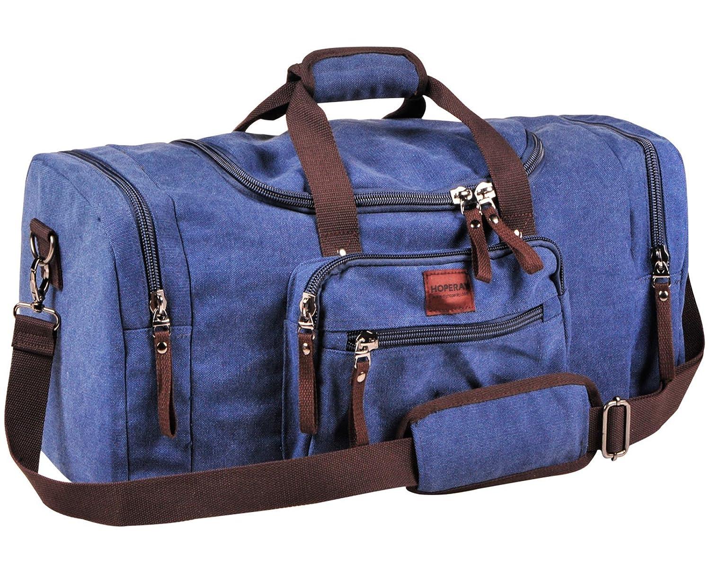 c2c69a20b88da8 Amazon.com: Dream Hunter Canvas/Weekender/Travel/Duffel Bag for Men's,  Blue: Sports & Outdoors