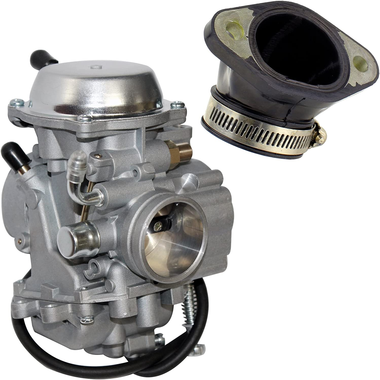 Carburetor /& Intake Manifold Boot For Polaris Magnum 325 425