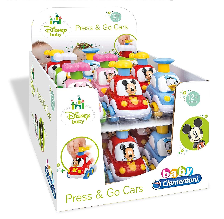 aa0d287313a8 Clementoni 14392 Disney Voitures Press & Go - Couleurs assorties:  Amazon.fr: Jeux et Jouets