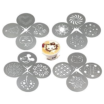 Lofekea Barista Coffee Stencils