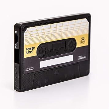 GPO Cassette Power Bank - Cargador de Alta Velocidad para ...