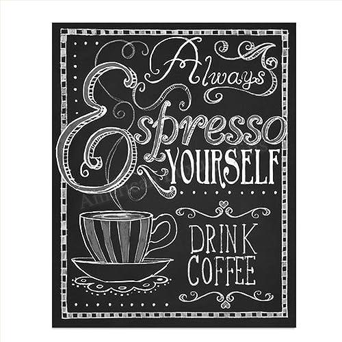 Coffee Art Coffee Bar Art Coffee Gift Coffee Print Office Print Coffee Weekend Print Coffee Wall Art Kitchen Print