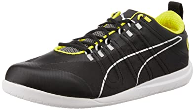 eeff31bcd65 ... buy puma night cat scuderia ferrari shoes mens motorsport trainers 7 uk  black yellow f3770 d4673