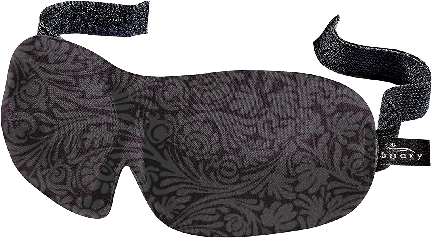Bucky 40 Blinks Ultralight & Comfortable Contoured, No Pressure Eye Mask for Travel & Sleep, Perfect With Eyelash Extensions - Foil: Health & Personal Care