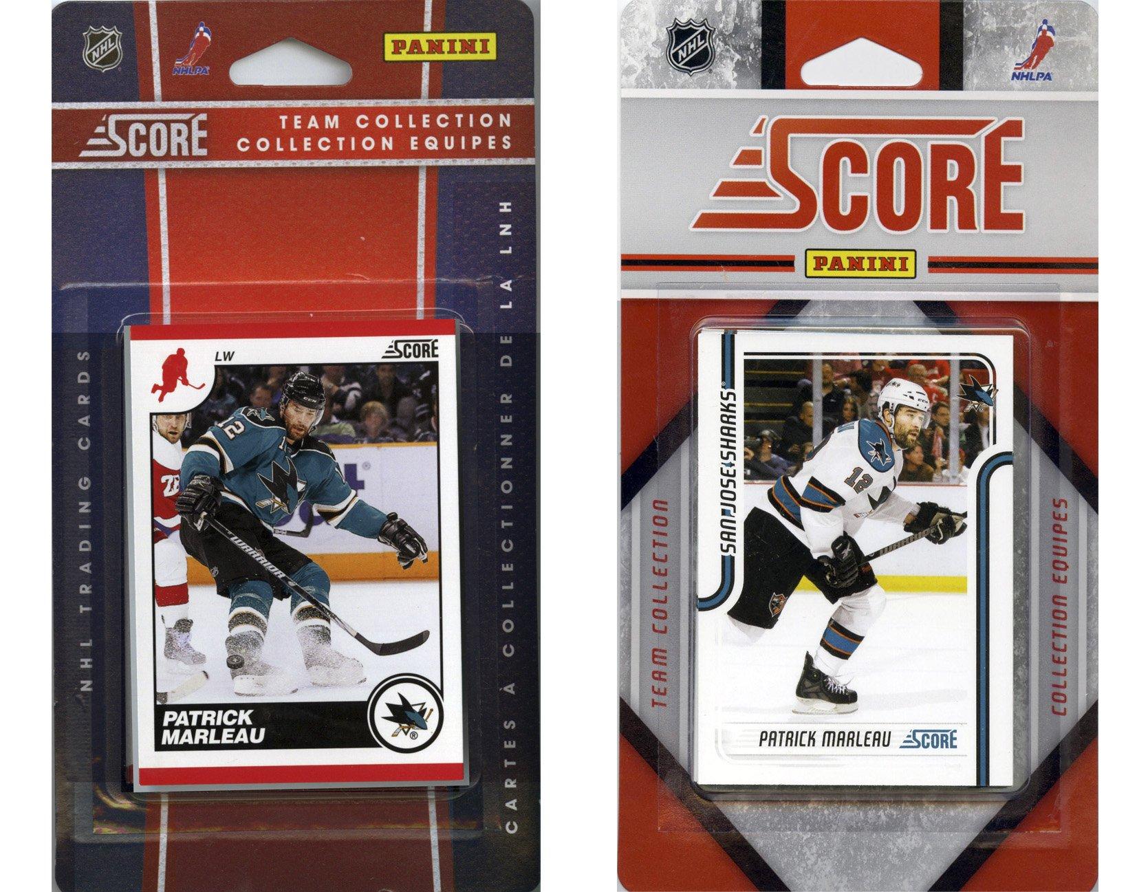 NHL San Jose Sharks Licensed Score 2 Team Sets