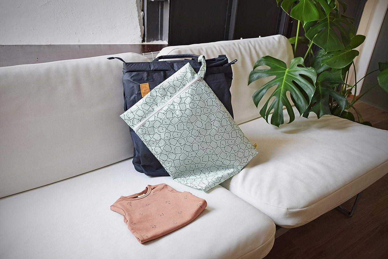 Wet Bag L/ÄSSIG Wiederverwendbare Nasstasche 2 St/ück Crocodile granny
