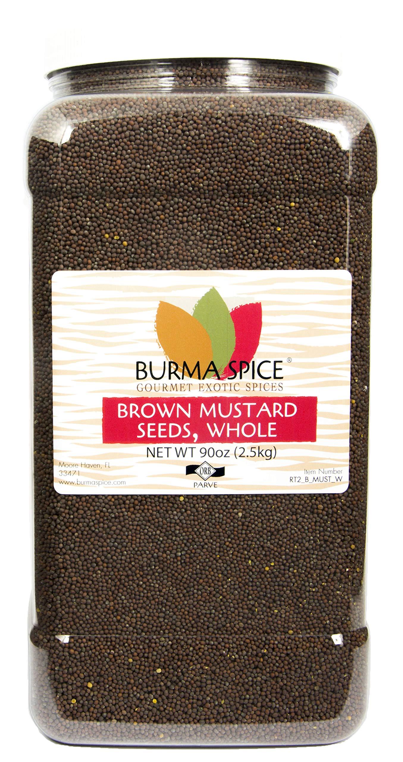 Brown Mustard Seed, Whole : Indian Mustard Kosher (90oz.)