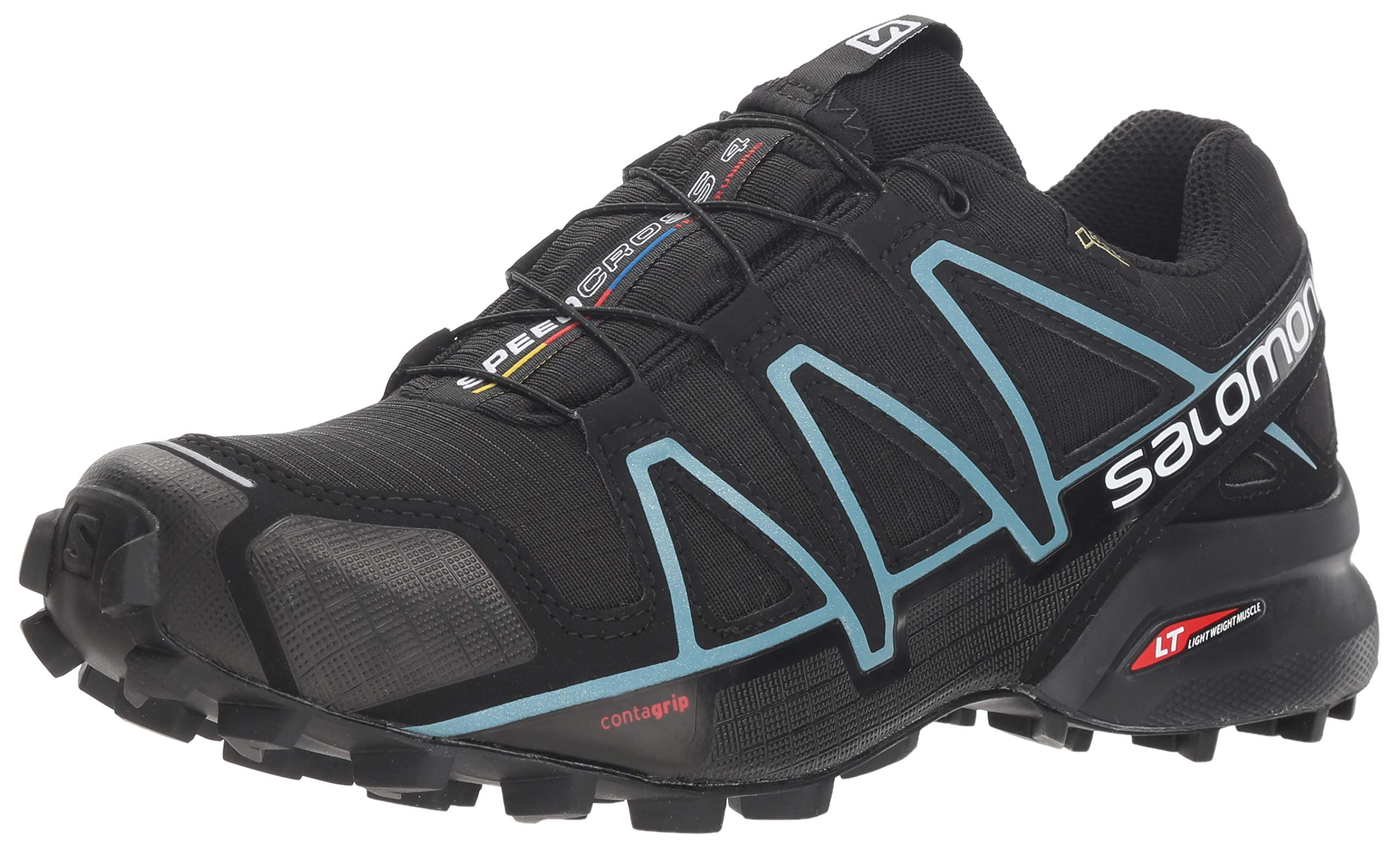 Salomon Women's Speedcross 4 GTX W Trail Runner, Black, 10.5 M US by Salomon