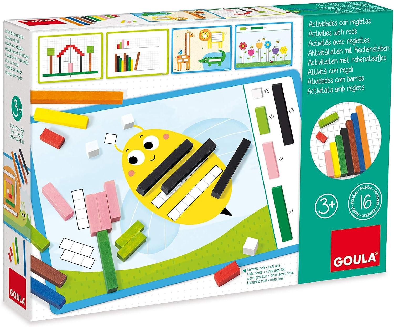 Goula - Juego de las regletas en caja (Diset 51106) , color/modelo surtido: Amazon.es: Juguetes y juegos