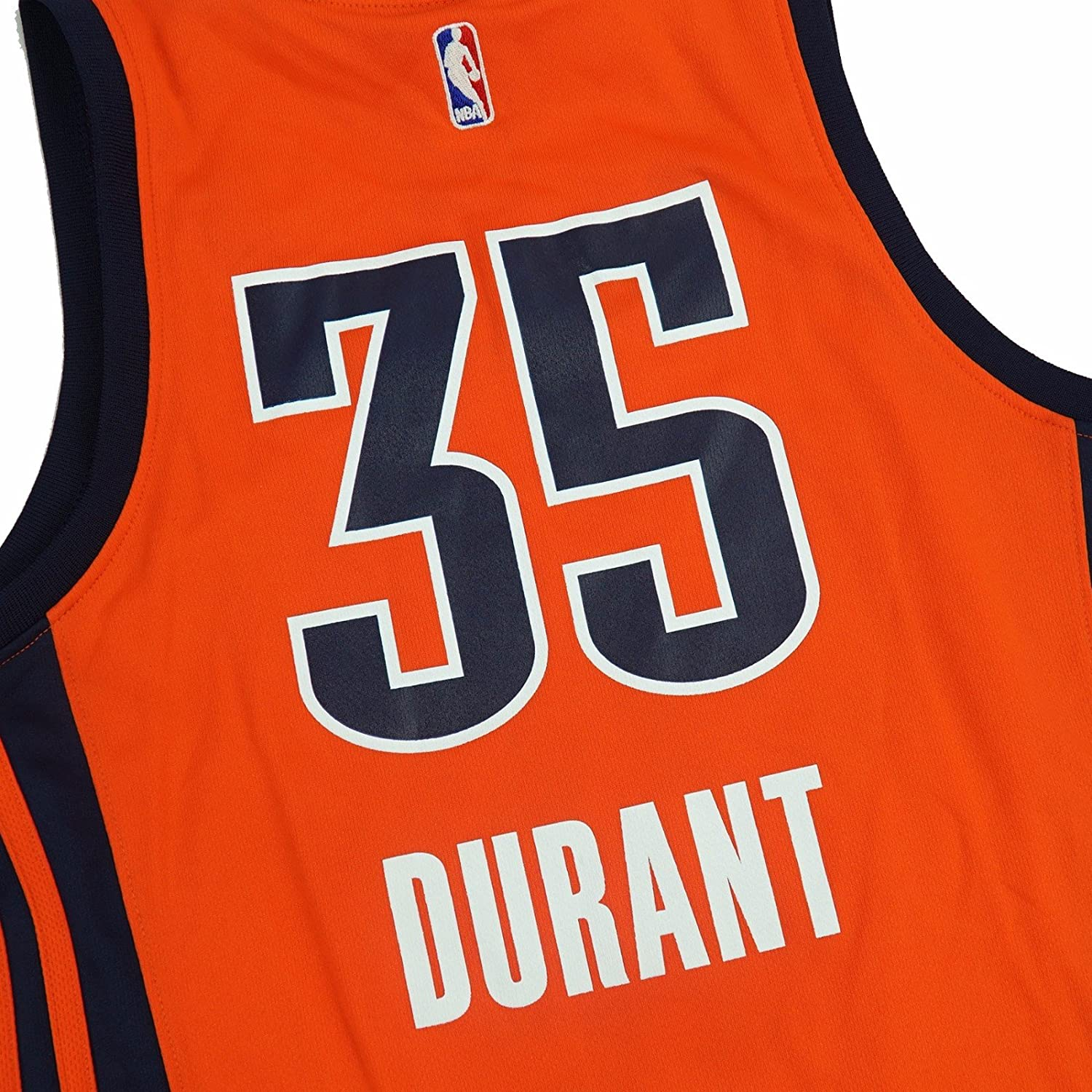 53af608bdd99 Amazon.com   Kevin Durant Oklahoma City Thunder NBA Adidas Orange Official  Alternate Replica Jersey For Women (S)   Sports   Outdoors