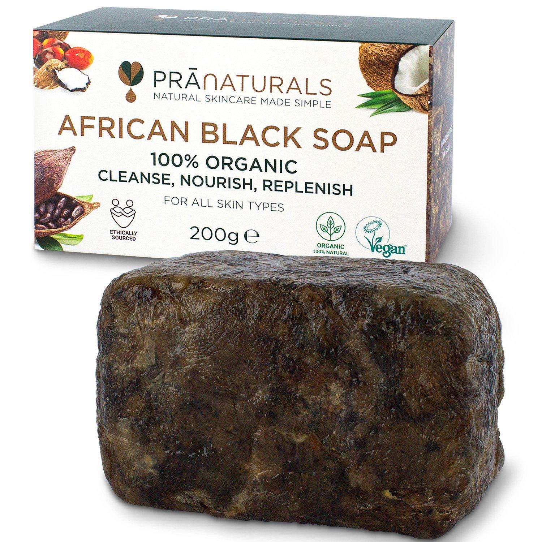 Organische Schwarze Seife