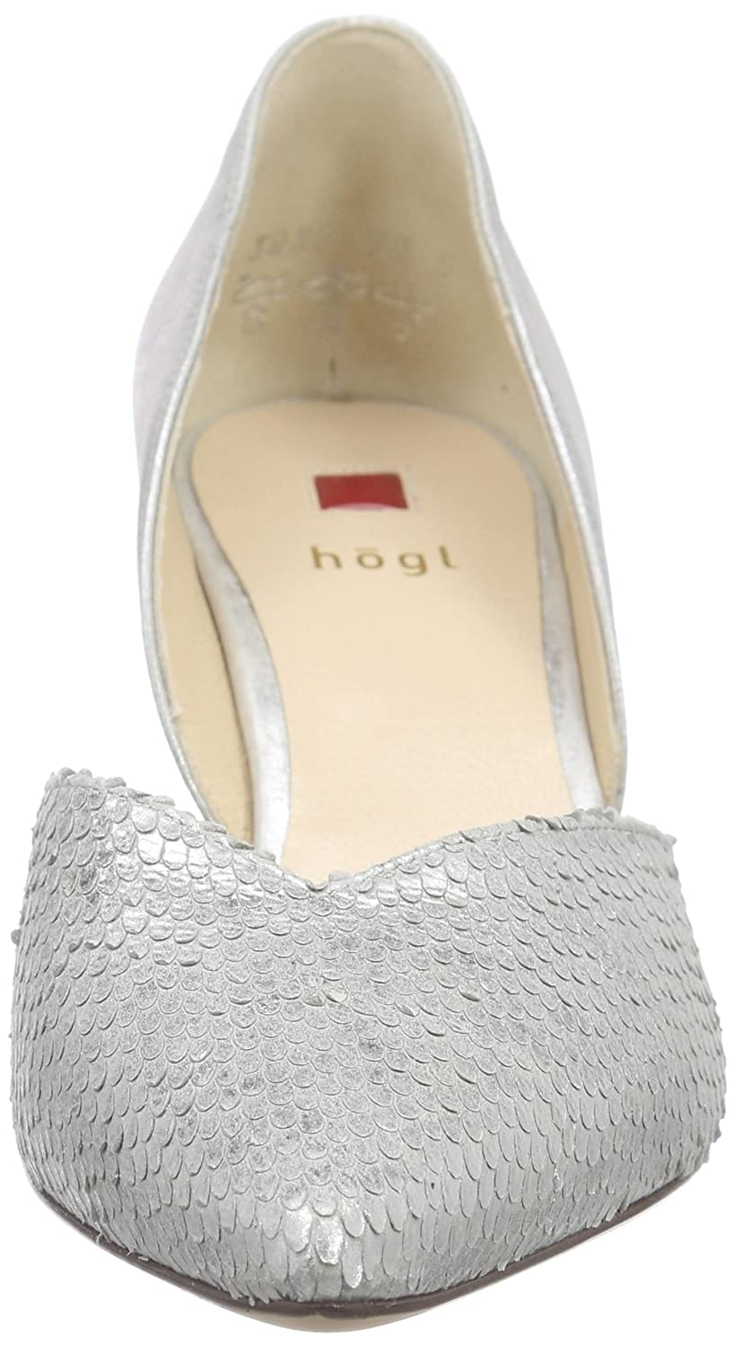 HÖGL 1-10 6738 Damen Pumps Silber Silber Pumps (7300) 54d0fe