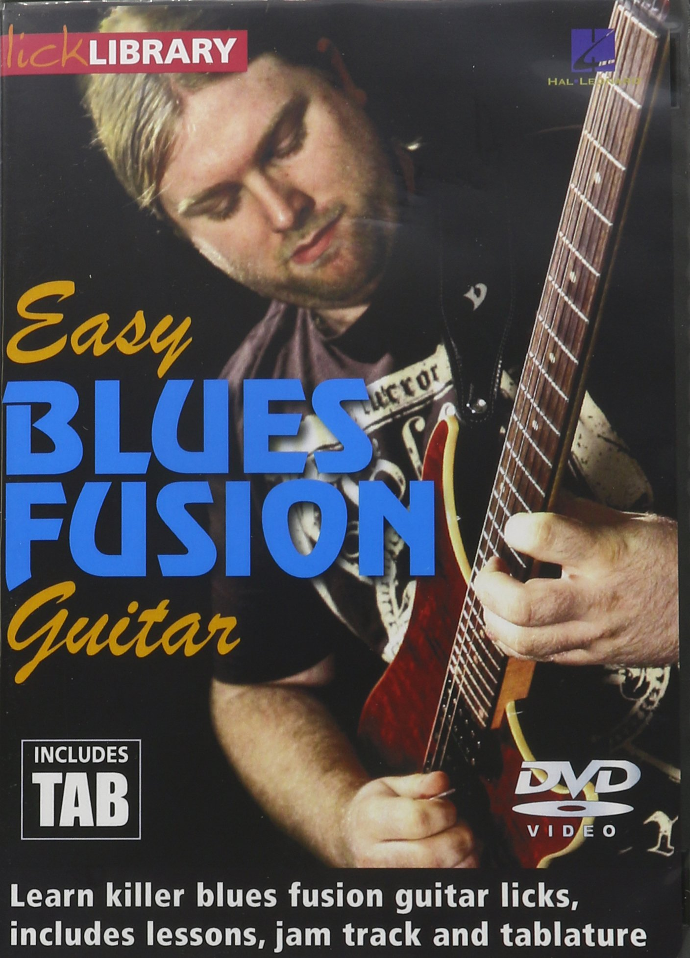 DVD : Easy Blues Fusion Guitar (DVD)