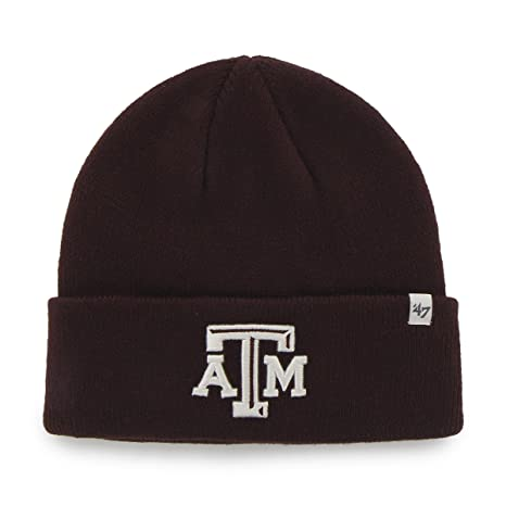 Image Unavailable. Image not available for. Color   47 NCAA Texas A M Aggies  Embroidered Raised Cuff Knit Hat be79096f15e6