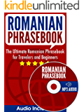 Romanian Phrasebook: The Ultimate Romanian Phrasebook for Travelers and Beginners (Audio Included) (English Edition)