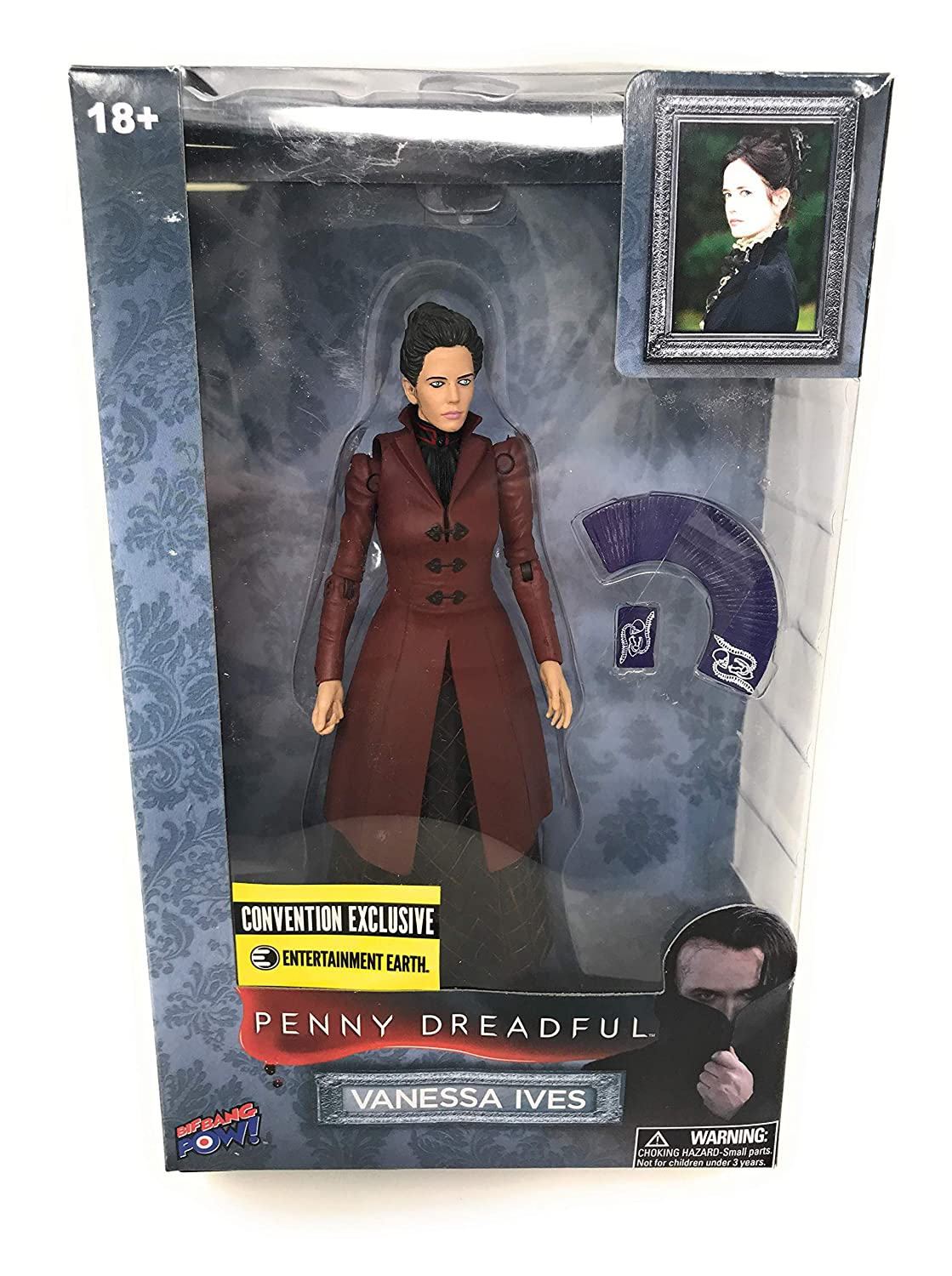 Werewolf Ethan Chandler Sir Malcolm Murray Dorian Gray Bundle: Penny Dreadful Exclusive 7 Figure Set Victor Frankenstein Vanessa Ives and The Creature with Bonus Nozlen Toy Bag Nozlen Toys Ethan Chandler