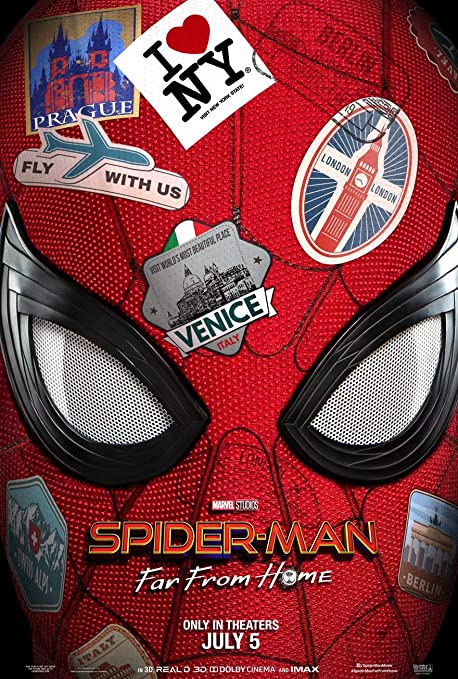 Image result for spiderman far from home movie poster