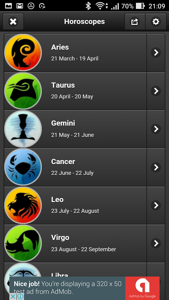 Amazon com: Newspaper Daily Horoscopes: Appstore for Android
