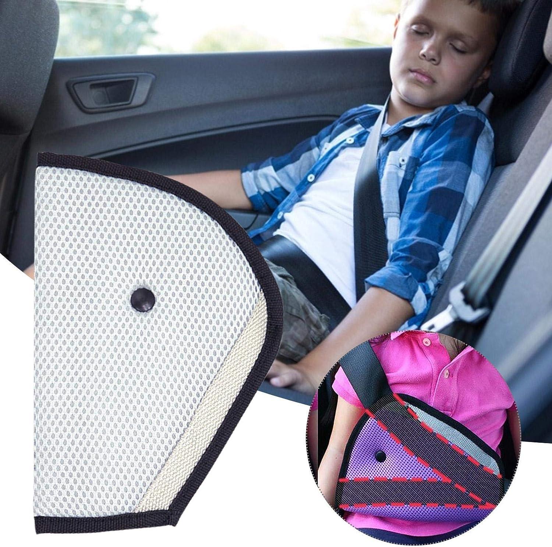 posicionador de cintur/ón de Seguridad Triangular Lavable para ni/ños Clip de Correa para cintur/ón de Seguridad para ni/ños y Adultos penta Ajustador de cintur/ón de Seguridad para ni/ños