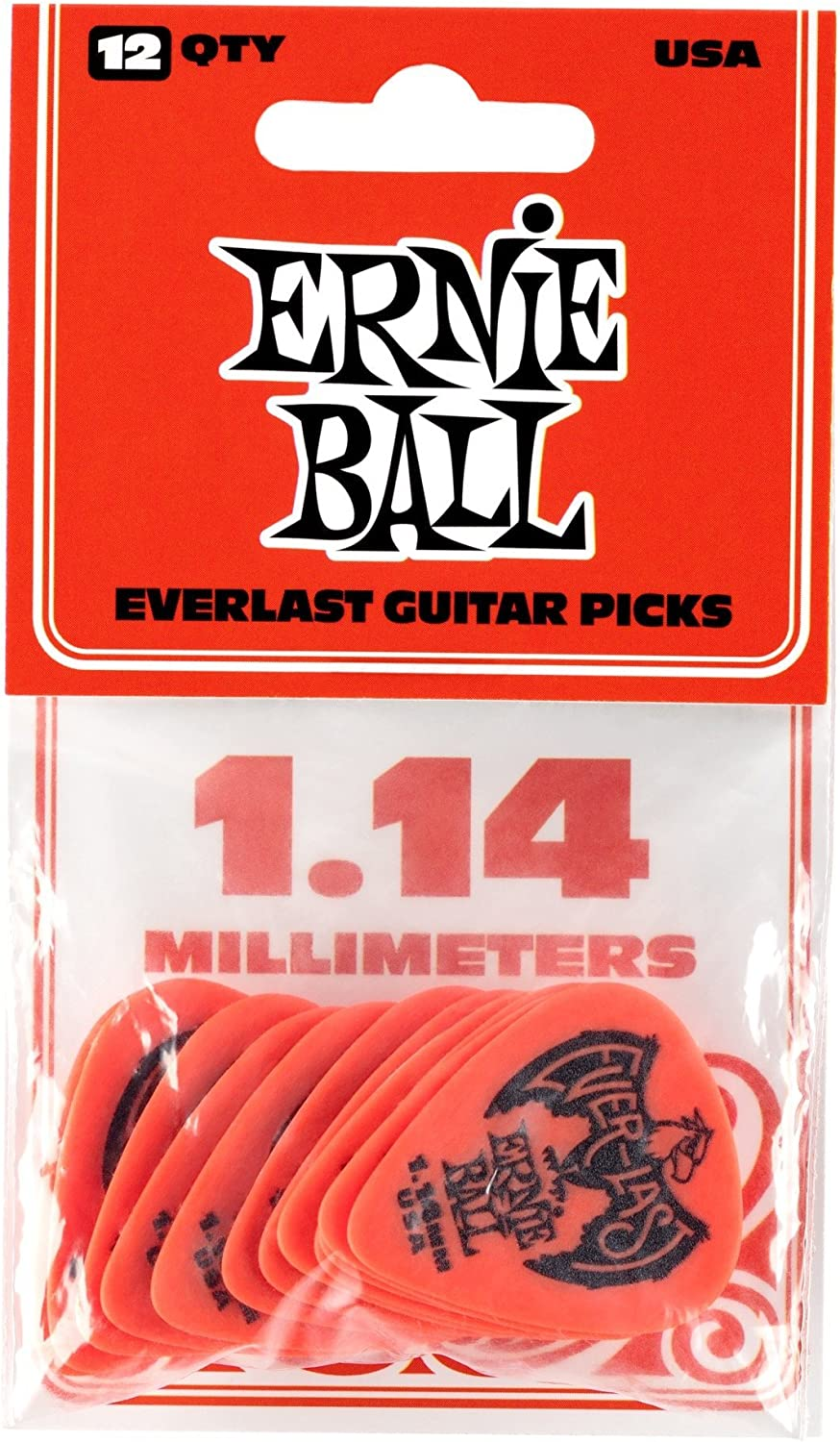 9179 Ernie Ball Pack mediators everlast