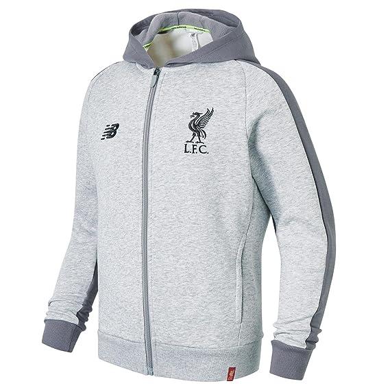 New Balance Liverpool FC Men s Leisure Hoodie 2018-19  Amazon.co.uk  Sports    Outdoors 8f752fbd2