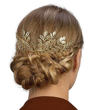 Goldener haarschmuck
