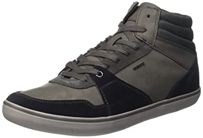 61881bdea135e Geox U Box J, Sneakers Hautes Homme  Amazon.fr  Chaussures et Sacs