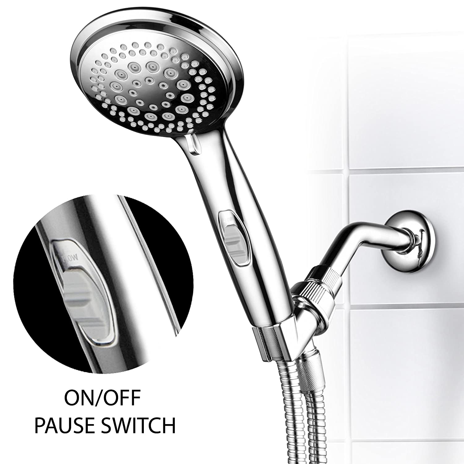 Dream Spa 1459 9-Setting High-Power Ultra-Luxury Handheld Shower ...