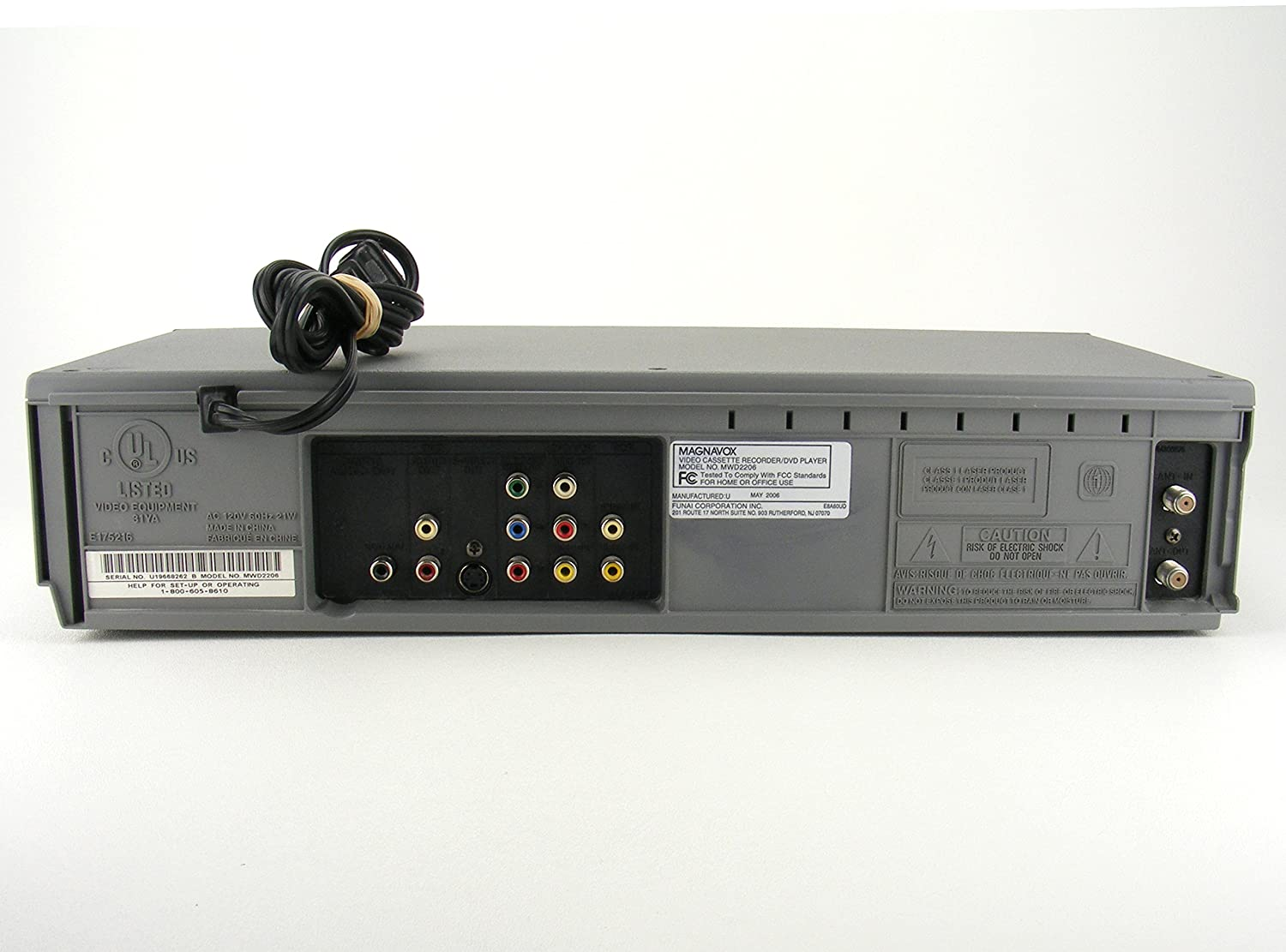 amazon com magnavox mwd2206 dvd vcr combination player electronics rh amazon com Example User Guide User Webcast