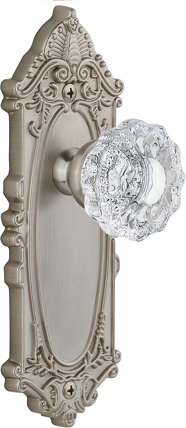 Single Dummy Timeless Bronze Grandeur Parthenon Plate with Provence Crystal Knob